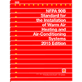 NFPA 90B-15: Installation of Warm Air Heating and Air-Conditioning Systems, 2015 edition